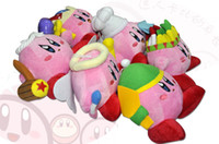 animal kirby plush - 7 quot cm Super Mario Bros Kirby Plush Toys Stuffed Plush Doll Toys Animal Stuffed Toys RETAIL