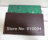 Wholesale P10 Red Led module semi outdoor PH10 Red LED Display PH10 R LED Panel