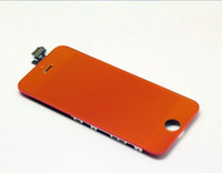 Cheap Top mirror LCD touch screen digiziter for iphone 5 mirror plating replacement screen for iphone 5