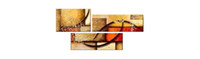 Wholesale Fine Art Modern Abstract Canvas Wall Art Hand Painted Oil Painting Strictly Quality Artwork Stretched Ready to Hang Decoration House On Sale