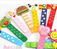 Wholesale Cartoon Book Mark Rule Wooden Animals Novelty Korea Stationery book mark animal book animal