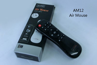 Wholesale HOT AM12 fly Air mouse GHz air mouse universal IR remote control for mini PC