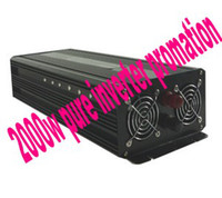 Wholesale DHL FEDEX DOOR TO DOOR promation Factory sell w pure sine wave power inverter