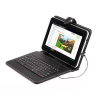 Wholesale high quality Inch G Allwinner A13 Android Tablet PC MB WIFI Camera Support D Game Bundle Keyboard Case
