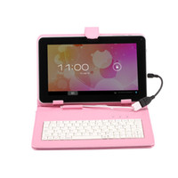 Wholesale Hot Selling quot Inch Tablet PC Leather Keyboard Cover Case For Inch Tablet PC Keyboard Cases Cover MID ePad