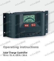 LLFA1288 Hotsale 12V / 24V авто работа, 10А, 15А, 20А, контроллер 30А Солнечная зарядка и Солнечная энергия контроллер
