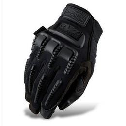 Wholesale shock resistant MECHANIX tactical gloves seal series IMPACT PRO full finger shooting tactical gloves M XL black