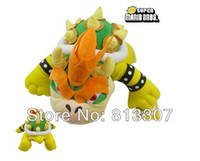 Multicolor big brother movie - 10 Super Mario plush toys Big Size Koopa Bowser dragon plush doll Brothers Bowser soft