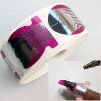 Wholesale tips Forms Nail Art Sculpting UV Gel Tips Telfon Nail Forms Guide Extension NA174