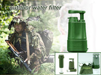 Wholesale 2014 hot sale miniwell outdoor water purifier portable water filter