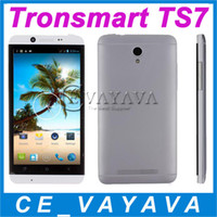 Wholesale Cubot ONE Tronsmart TS7 Glacier Quad Core GHZ MTK6582 MP Camera Inch Screen Android G GPS GB RAM GB ROM