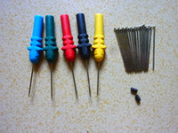 Wholesale Acupuncture Probe Set Needle HT307 for Hantek DSO3064 Hantek HT307 Back Pinning Probes Needle Piercing Probes Set Assorted Colors