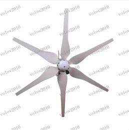 LLFA1293 2pcs /300W12V Éolienne de Petite Éolienne à Aimant Permanent de Noël à faible coût préférentiel des Ménages w