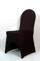 Wholesale black spandex lycra chair cover for weddings