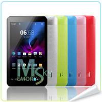 DHL Nouvelle arrivée HDMI Android 4.2 dual core A9 Dual Camera 7 pouces Via 8880 WM8880 Mise à jour 8850 tablette meilleure tablette informatique PC 000269