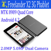 Wholesale Freelander PX2 MTK8389 Quad Core Inbuilt G WCDMA Phablet Inch Tablet PC Android GPS HDMI Bluetooth