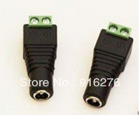 Wholesale Hot DC Power Female Led Jack Adapter Connector for SMD LED Strip Light Single Color