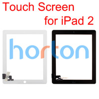 Wholesale Digitizer Touch Screen Pannel for Apple iPad Black White Glass Repair Part Replacement AF056