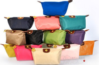 Wholesale 10 Large Size Hot New Women senior waterproof nylon candy Lady s cosmetic organizer bag