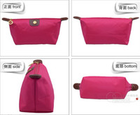 Wholesale 10 Middle Size Hot New Women senior waterproof nylon candy Lady s cosmetic organizer bag