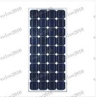 Дешевый Комплектация панели-LLFA1296 5 X 100w панели солнечных батарей Модуль монокристаллический всего 500w Бесплатная доставка, класс, Brand New Solar Panel!