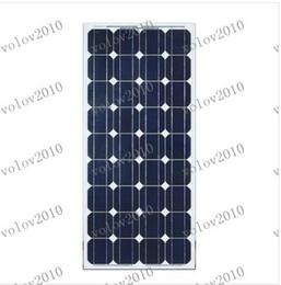 Inicio Sistema Solar Accesorios de módulos LLFA1296 100w del módulo solar monocristalino Panel de grado A estrenar Solar Fotovoltaica