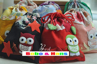 Wholesale New owl style small Shrink bag tie pocket Cosmetic bag purse