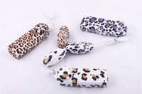 Male Plastic Double A-batteries Free shipping New 2.4*5.3cm Leopard vibrating bullets sex toy vibrator stimulator massager sex toy adult toy