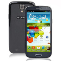 Wholesale Star U9500 MTK6589 Quad Core GB RAM inch Android WiFi GPS I9500 S4 MP Camera Unlocked G Smart Mobile Cell Phone