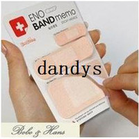 Wholesale Creative Band Aid type Notepad sticky note Memo message post Fashion Gift