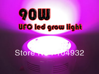 Wholesale best W LED Grow Light Spectrums IR Indoor Hydroponic System Plant UFO W led light