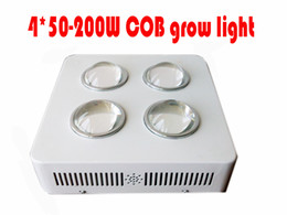 200W G3 PRO SERIES 4*50W COB LED grow Light 6 band red+blue+orange+white+ IR+UV Hot selling 2 years Warranty