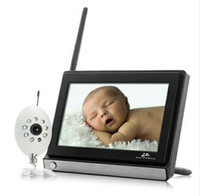 Wholesale Wireless Widescreen Inch LCD Baby Monitor with Night Vision Camera