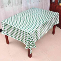 100% Cotton   PVC waterproof tablecloths square table Roundtable D280