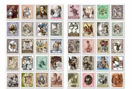 Wholesale New paper ALICe DOROTHY stamp deco Sticker Index Label Fashion