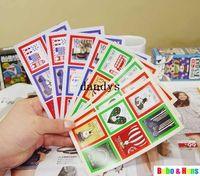 Wholesale New set vintage travel rabbit stamp sticker paper Decorative print Label Multifunction