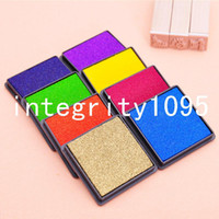 Wholesale Stamp good underservant solid color inks quick dry type inkpad