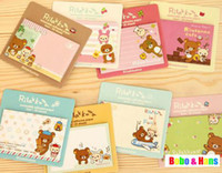 bears memo pad - New cute cartoon bear style notepad paper sticky message note Memo pad