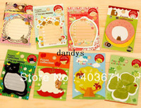 Copier Paper memo pad - New cute cartoon amp romantic style notepad paper sticky message note Memo pad