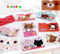 Wholesale Cartoon reliakuma bear Circus styles credit card holder card case for card Fashion gift