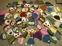 Unisex Winter Crochet Hats Free shipping Wholesale - Lovely Crochet Baby Flower Hat Hand Knitted Baby Flower Hat Crochet Girls' Spring Hat Baby Beanie
