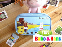 Canvas Bag Cosmetic Cases Free Shipping NEW cute cartoon styles Cosmetic case & Bag Handbag wallet Pencil bag gift Fashion Wholesale