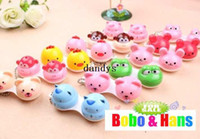 Contact Lens Storage Set animal lens case - new cute cartoon animals styles contact lenses case box lens Companion box dandys