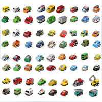 Wholesale 50 Different Styles Mini Pull Back Diecast Cars Model Vehicle Toys Children s Gifts