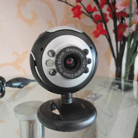 Wholesale HOT Webcam USB M LED Camera Web Cam With Mic for Desktop PC Laptop