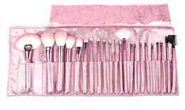 Wholesale 22 Professional Makeup Cosmetic Brush set Kit Case H1012P