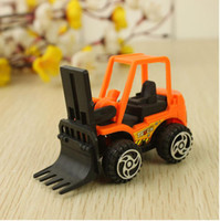 Wholesale Construction Team Diecast Cars Pull Back Model Vehicle Toys Christmas Gifts