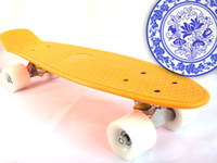 22 inch Orange New Fresh PP Material 22 inch Penny Board Skateboard Penny Board Penny Skateboards Penny Skateboard Nickel Skateboard Longboard