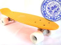Cheap 22 inch Penny Board Skateboard Best Orange New Fresh PP Material Penny Board