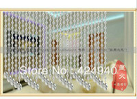 Wholesale In yaer product Meng sha new white crystal bead curtain